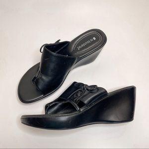 VTG 90s Y2K Chunky Platform Corset Sandals